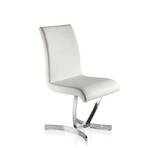 chaise blanche design salle a manger