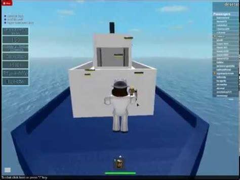 roblox titanic sinking simulation