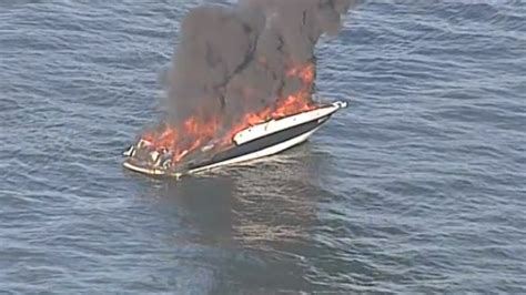 Vancouver Fire Boat 3 by Close Call Boaters Saved From Burning Craft Near Ubc