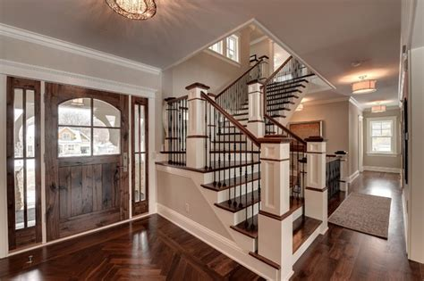 Home Stair : Parade Of Homes Dream House-traditional-staircase