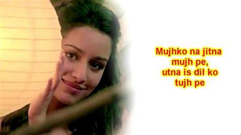 Aashiqui 2 Mash Up Lyrics [hd] + Song Download Link