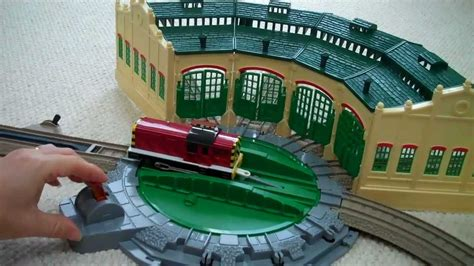 trackmaster tidmouth sheds toys r us trackmaster tidmouth sheds with the henry