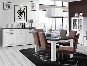 Esstisch Weiß Grau : esstisch gaston 28 wei grau 160 207 x90x75 ausziehbar esszimmertisch wohnbereiche esszimmer ~ Markanthonyermac.com Haus und Dekorationen