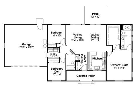 Ranch House Plans-mackay-associated Designs
