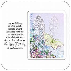 May your birthday be extra special | Free Birthday Cards