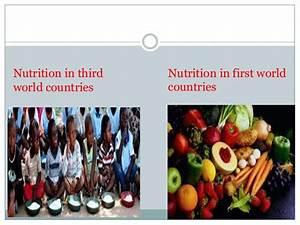 First world n third world comparison