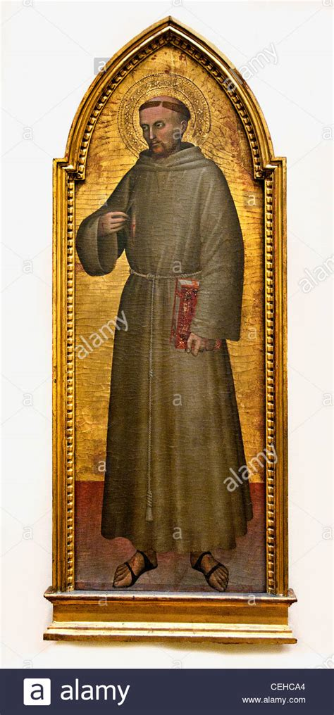 st francis of assisi francois d assise 1360 da stock photo royalty free image