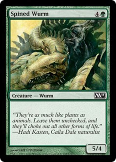 spined wurm 10 different printings deckbox
