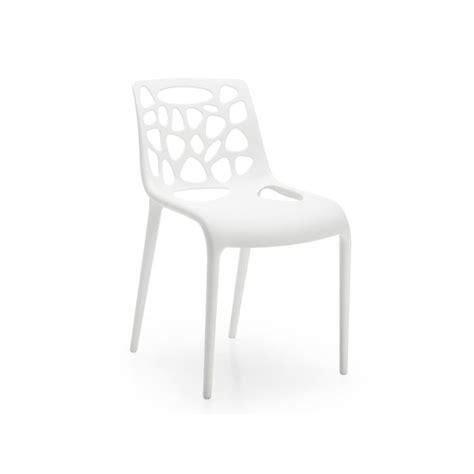 mod 232 le chaise de cuisine blanche pas cher
