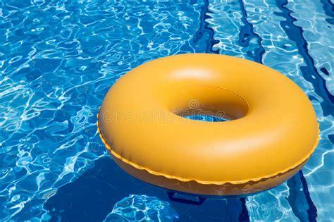 Swimming Pool Inner Tube Stock Photo Image Of Drop