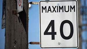 Lower speed limits might not make Toronto streets any ...
