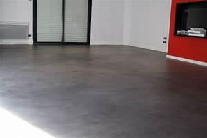 Beton Cire Verarbeitung : sols vitr int rieur ciment val d 39 iz 35 ~ Markanthonyermac.com Haus und Dekorationen