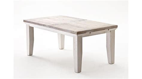 Esstisch OPUS Tisch Kiefer massiv weiß Vintage 180220 cm