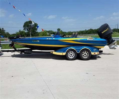 Boats For Sale By Owner In Killeen Texas by Triton Boats For Sale In Texas Used Triton Boats For