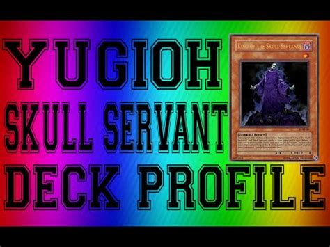 yugioh best skull servant deck profile a lot of