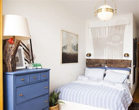 Before & After A Smallspace Bedroom Makeover Lonny