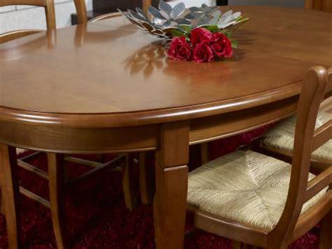 table ovale de salle 224 manger estelle en merisier massif de style louis philippe 170 110 2