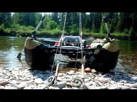 Inflatable Pontoon Boats Youtube by Inflatable Pontoon Boat Fly Fishing Youtube
