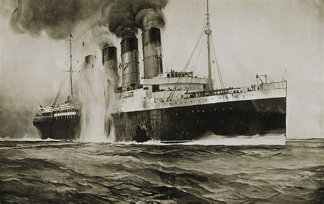 the sinking of the cunard liner rms lusitania 100 years ago the secret war council 174