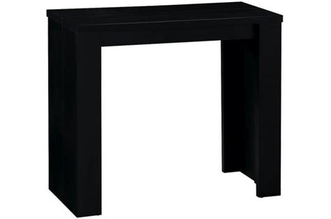 table console extensible noir broadway tables consoles pas cher