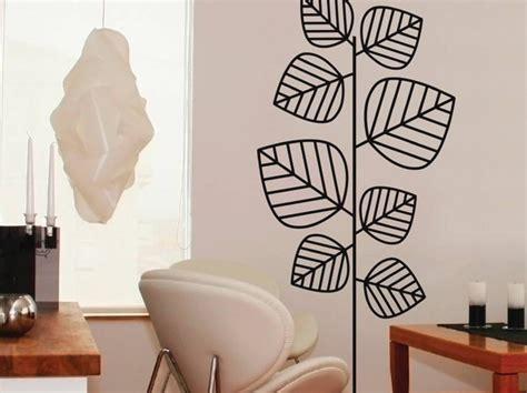 sticker mural avec des feuilles photo 8 20 un aspect minimaliste qui sied 224 merveille au