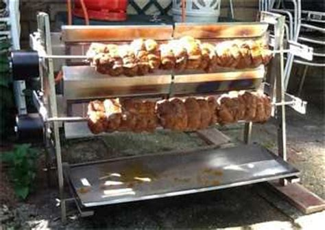 gril pro 2 inox grand tournebroche l 252 chinger equipement prof gastronomie