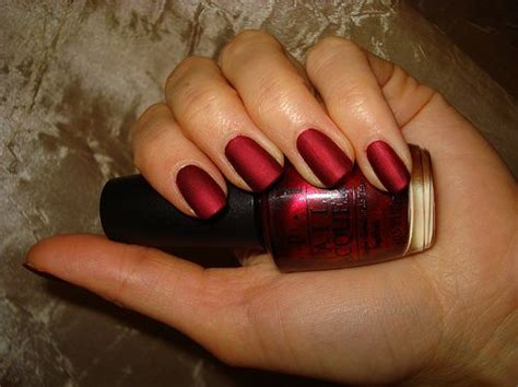 Matte Red Nails! Wowee