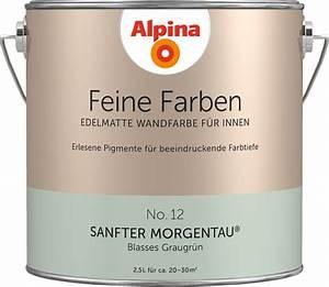 Alpina Sanfter Morgentau : alpina vers in pastell ~ Markanthonyermac.com Haus und Dekorationen