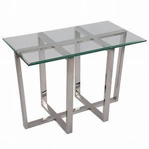 Tisch Glas Metall : beistelltisch rechteckig glas metall wandtisch glas verchromt tisch glas verchromt metall ~ Markanthonyermac.com Haus und Dekorationen