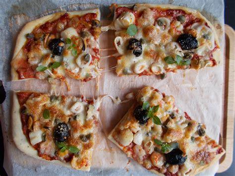 pizza aux fruits de mer toque de choc