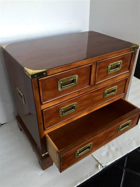 drexel heritage dresser hardware miniature drexel heritage caign chest of drawers at 1stdibs
