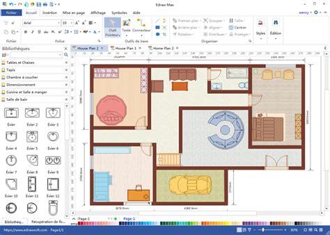 plan maison logiciel gratuit 2d