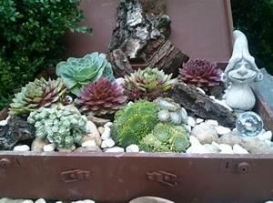 Alter Koffer Deko : alter koffer bepflanzt garden suitcases pinterest ~ Markanthonyermac.com Haus und Dekorationen