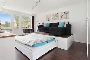 Podest Mit Ausziehbarem Bett : podestbett bauen praktische l sung f rs moderne schlafzimmer ~ Markanthonyermac.com Haus und Dekorationen