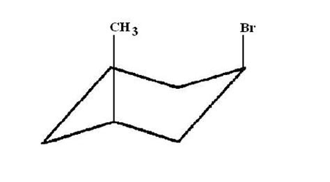 how can i draw the cis 1 bromo 3 methylcyclohexane chair conformation socratic