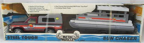 Toy Bass Boat by Fs Pressed Steel Trucks Arizona Diecast Models