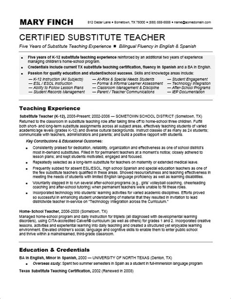 Substitute Teacher Resume Sample  Monsterm. Apple Store Resume. Sample Professor Resume. Resume Making Format. Paralegal Resume Cover Letter. Expert Resume. Fine Dining Server Resume Sample. Hotel Resume Examples. How To Write An Entry Level Resume