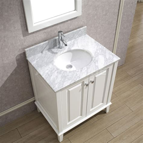 bathe 30 white bathroom vanity solid hardwood vanity with soft closing doors