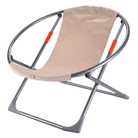 large folding saucer moon chair folding chairs stools chairs furniture