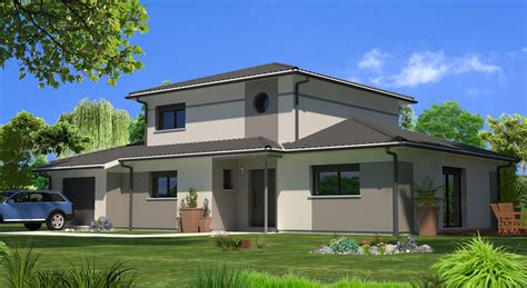 cuisine alissia contemporaine maisons lara modele de maison moderne plain pied modele maison