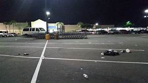 Walmart parking lot status quo; dirty. - Yelp