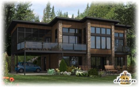 799 le heming chalet maison secondaire plans design