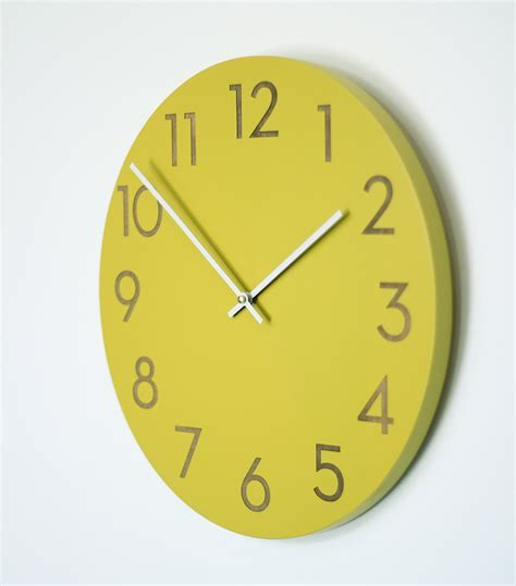Contemporary Large Wall Clock For Living Space  Wall Clocks
