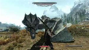 The Elder Scrolls V: Skyrim - First Time Fighting a Blood ...