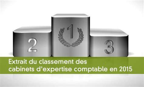 classement des cabinets d expertise comptable le ca par collaborateur 2015