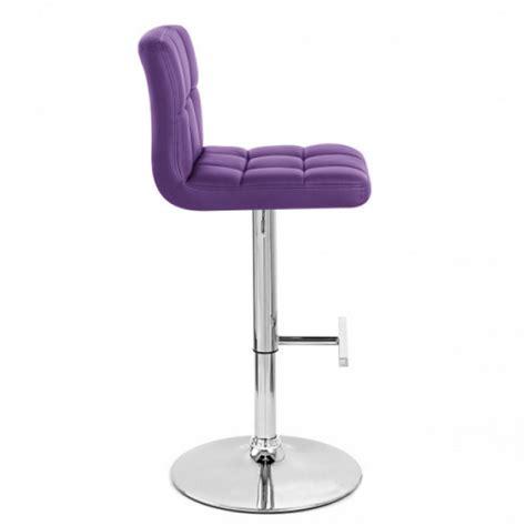 tabouret de bar violet x2 mustang tabouret de bar topkoo