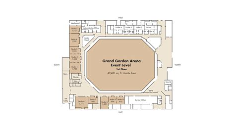 mgm grand garden arena seating chart detailed seat row
