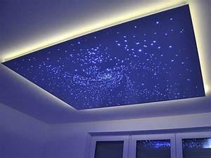 Deckenleuchten Spots Ideen : die besten 25 sternenhimmel led ideen auf pinterest sternenhimmel lampe led deckenlampen und ~ Markanthonyermac.com Haus und Dekorationen