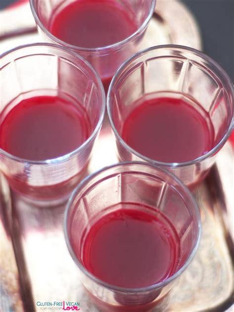 vegan jello dessert recipe refined sugar free