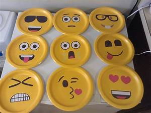 Emoji faces made on paper plate | Ideas | Pinterest ...